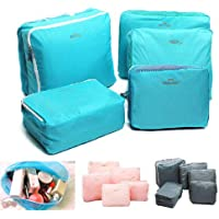 Storage Bags Travel Packing Cubes Luggage Organizer Pouches Durable Multi-functional 5 Pcs