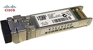 Cisco SFP-10G-LR SMF Module, Single Mode Fiber, Compatible