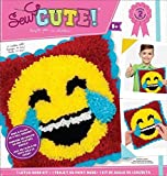 ColorBok 73732 Sew Cute Latch Hook Emoji Laugh Tears Latch Hook Kit 2 PACK