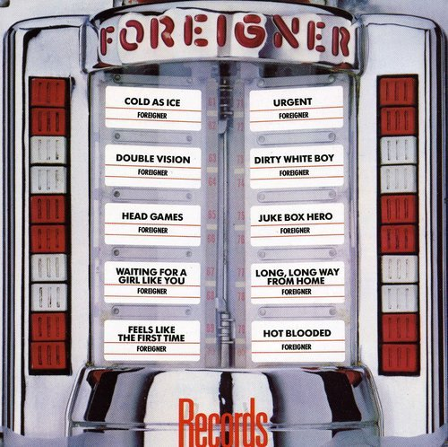 Top foreigner records