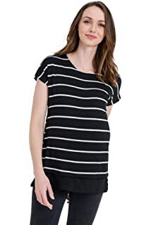 453dabed19f Hello MIZ Women's Maternity Sweater Nursing Top - Made in USA at ...