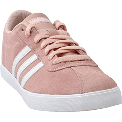 8eca95befad93 Amazon.com   adidas Womens Courtset Casual Shoes Pink 8.5   Shoes