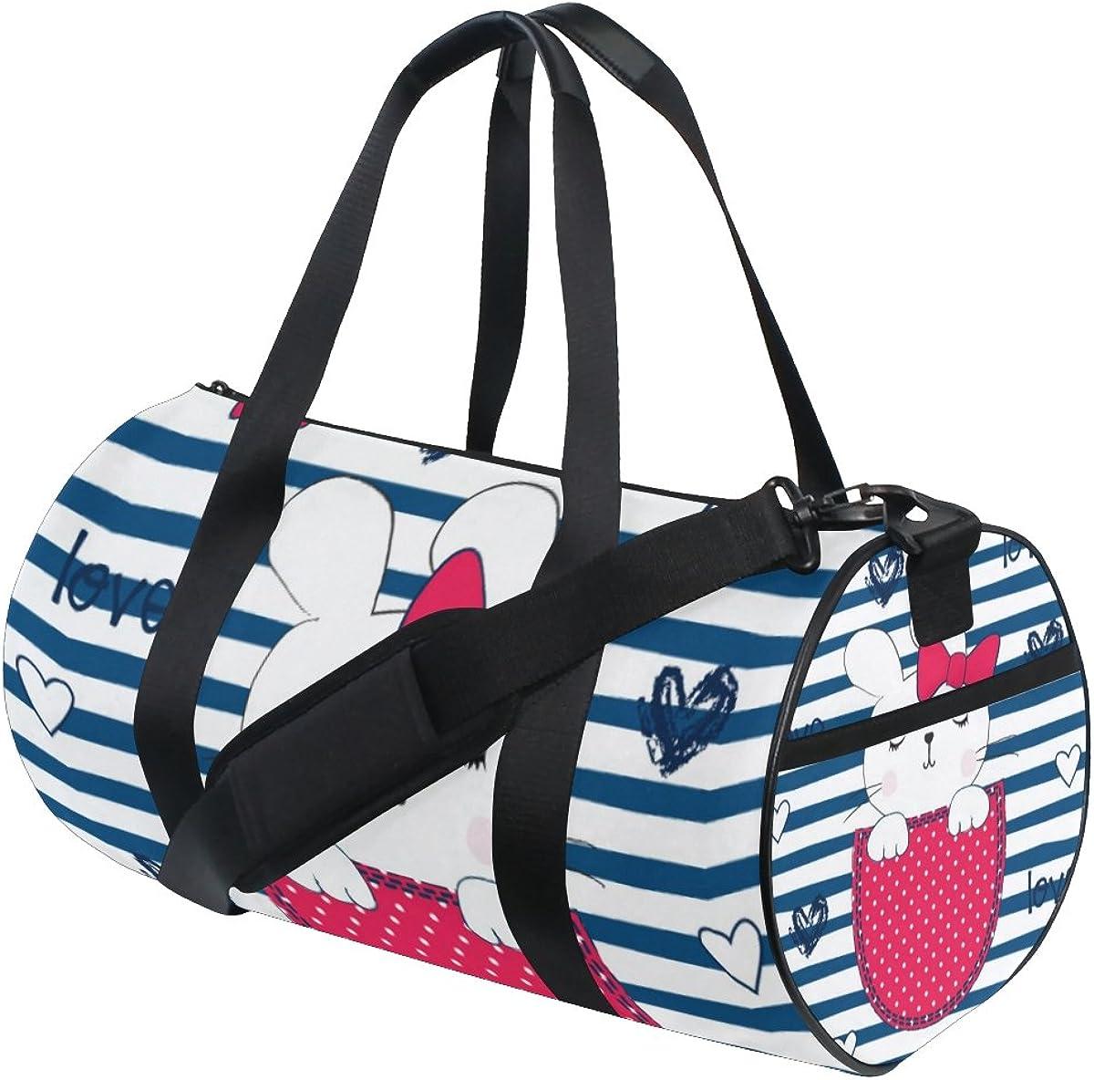 Travel Duffels Sleeping Girl Duffle Bag Luggage Sports Gym for Women /& Men