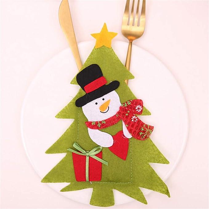 DAILYG - Cuchillo de Navidad, Tenedores, Mantas, Papá Noel ...
