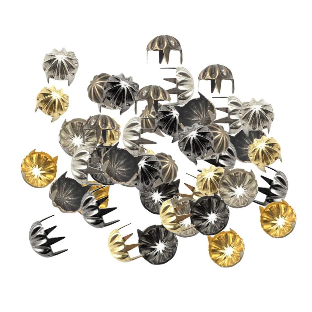 Gold perfk 50x K/ürbis Form Pyramidennieten K/ürbis Nieten Ziernieten Basteln DIY