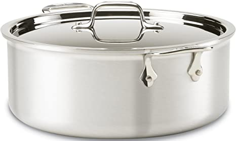 Amazon.com: All-Clad 7506 MC2 Master Chef 2 - Olla con tapa ...