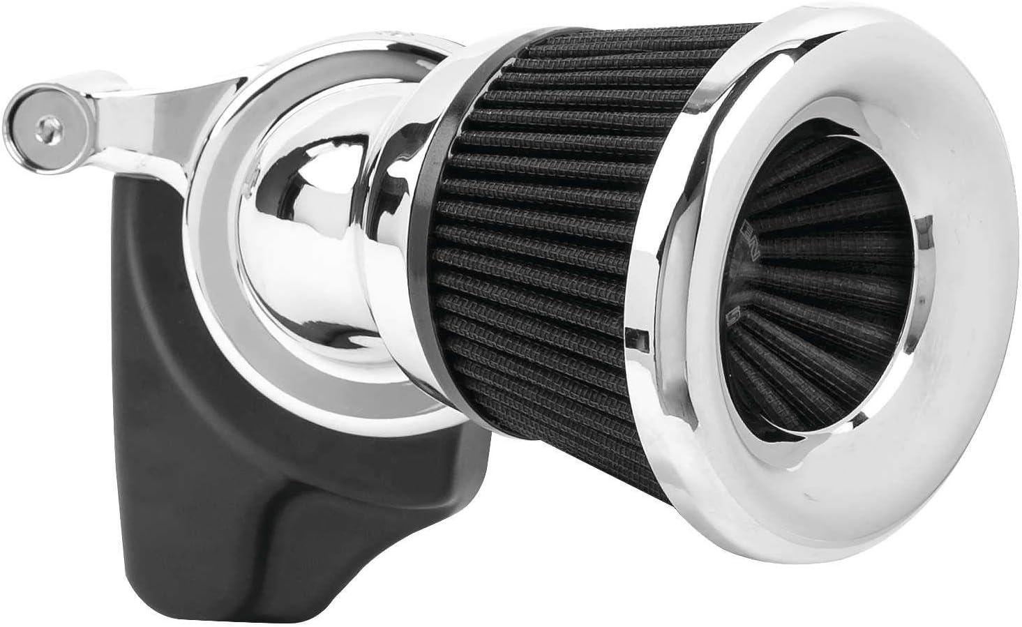 Black Arlen Ness 81-202 Velocity 65 Degree Air Cleaner Kit