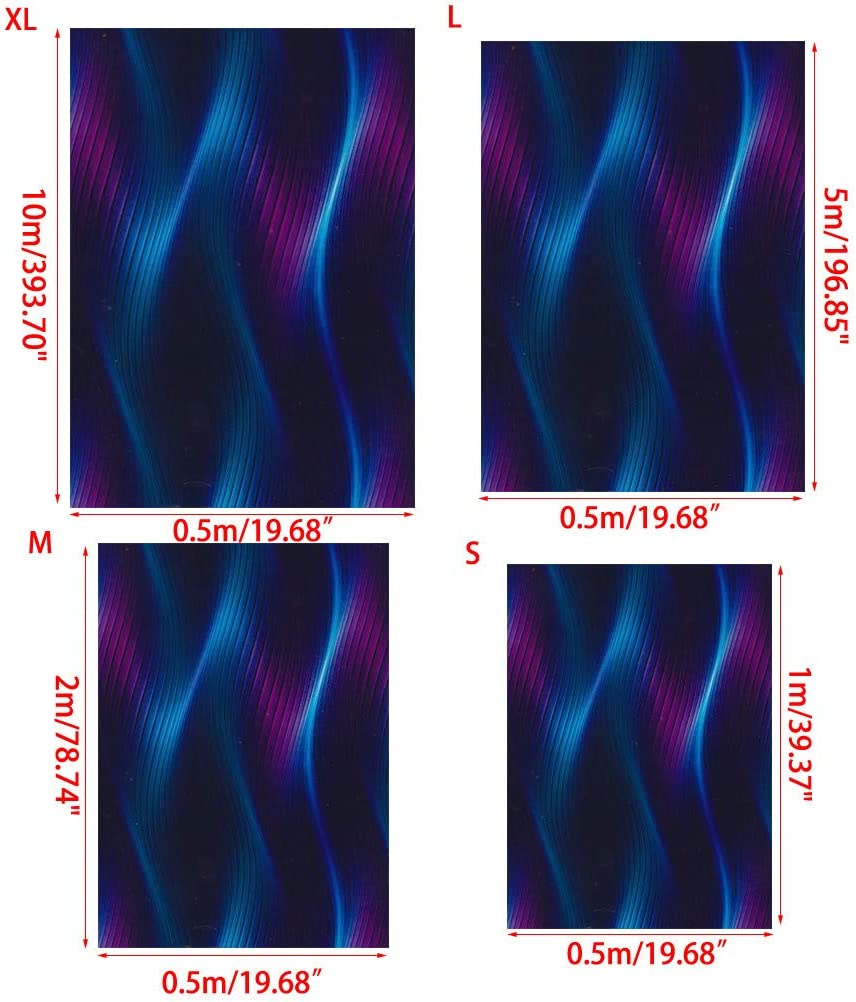 Hydro Dipping Film for Home Automotive Guitar Decor YS125 Water Transfer Printing Haayward Hydrographic Film