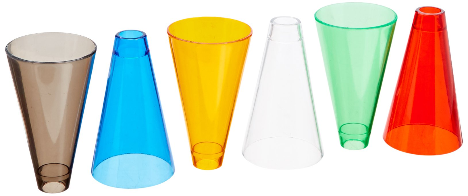 Rolyan Stacking Cones and Wooden Base, Set of 30 Activity Cones with Acrylic Colors and Base for Exercises for Occupational Therapy, Physical Therapy, Perception, and Coordination by Rolyan (Image #2)