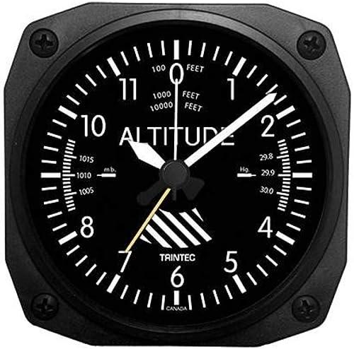 Trintec Aviation Altitude Altimeter Alarm Clock – DM60