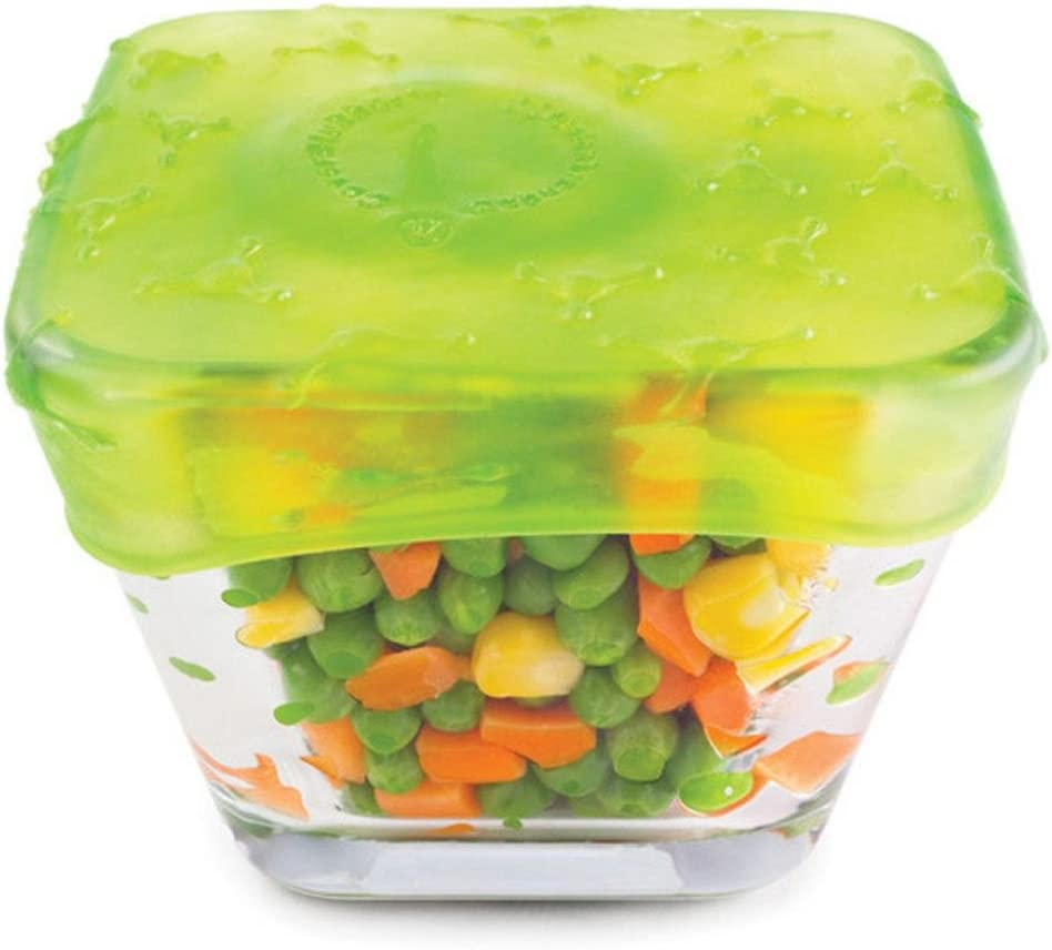 4Pcs//set Silicone Fruit Vegetable Food Hugger Storage Cover Organizer Contain ok