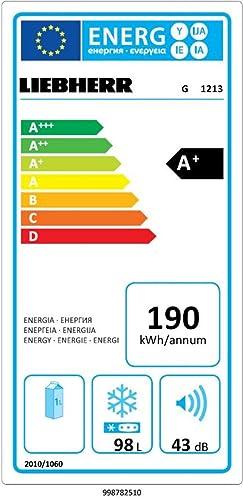 Liebherr G 1213-20 - Congelador (Vertical, Independiente, Color ...