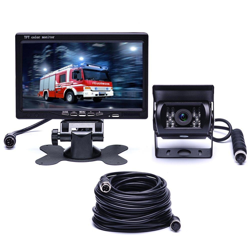 Podofo Auto Rückfahrkamera & Monitor Kit: Amazon.de: Elektronik