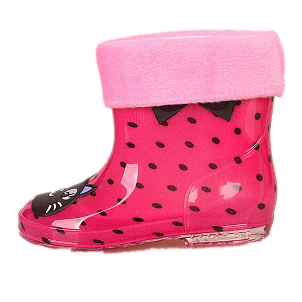 Muck Snow Kids/' All-Weather in Fun Patterns Waterproof Non-Slip Mud Boots Rain