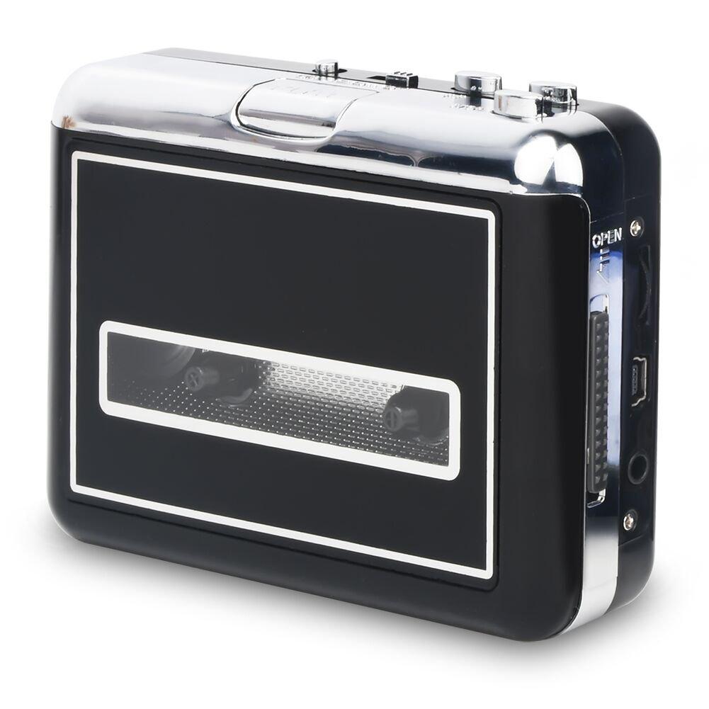 Cassette de Cassette Rybozen vers Un convertisseur de CD MP3 MP3 Via USB, Lecteur de Cassettes USB portatif, Capture de la Musique Audio MP3 - Compatible avec Portables et Les Cassettes PC Walkon