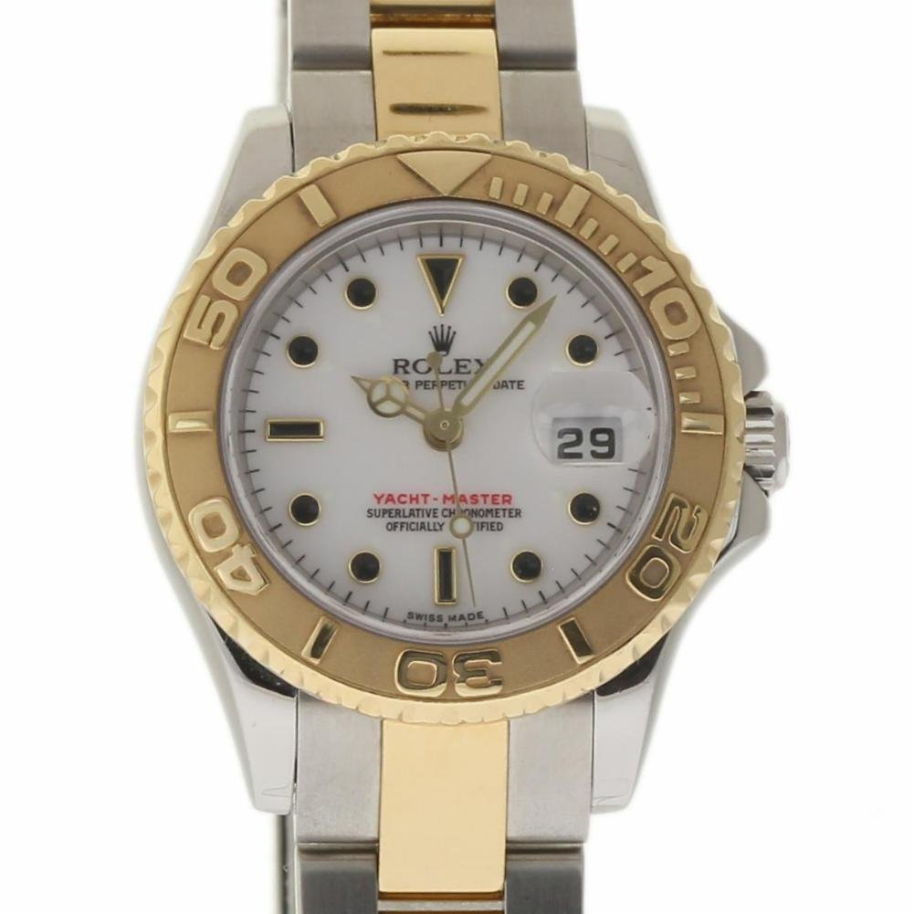 Rolex Yacht-Master swiss-automatic womens Watch 169623 (Certified Pre-owned)