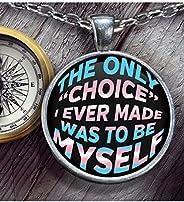 LGBT - Transgender Pride Necklace