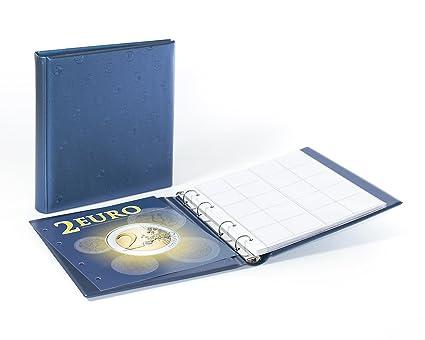LINDNER - Álbum para monedas de 2 euros (incluye 5 fundas ...