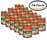 PACK OF 18 - Hormel 100% Natural White Chicken Chili with Beans, 15 Oz
