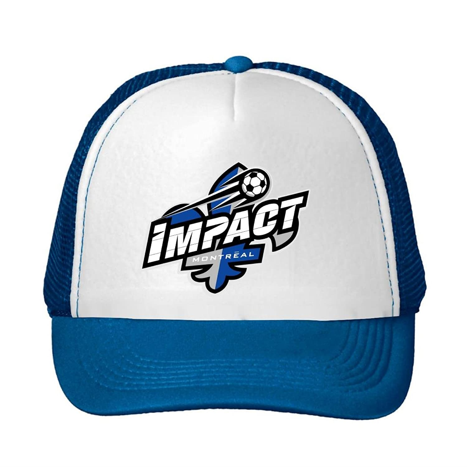 Woman Men Cotton Montreal Impact Team logo Adjustable Mesh Hats