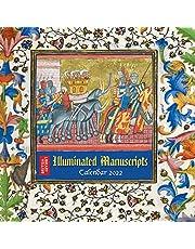 British Library - Illuminated Manuscripts Wall Calendar 2022 (Art Calendar)