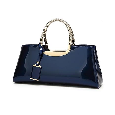 af0cc606c49 Tisdaini Mujer Bolso Mano Moda Bolsos Charol Hombro Bolsa Messenger Bag  Bolso pequeño