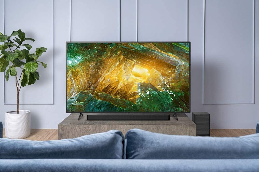 Sony X900H 65 Inch TV: 4K Ultra HD Smart LED TV with HDR and Alexa Compatibility - 2020 Model with Sony HT-G700 3.1CH Dolby Atmos/DTS:X Soundbar