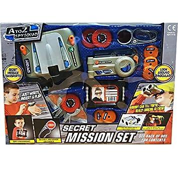 Children Xmas Fun Pretend Play Spy Detective Secret Mission Toy Gift Set Indoor Outdoor Activity(09301) (Medium) FB FunkyBuys