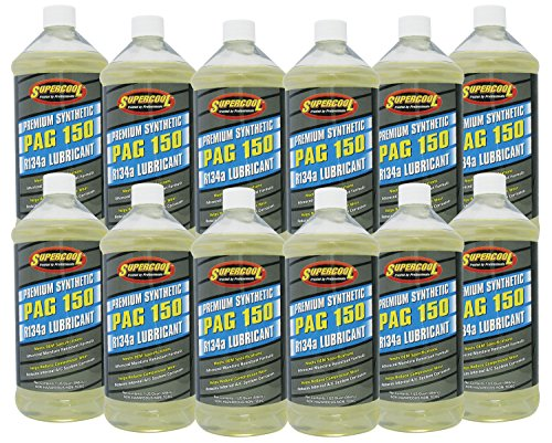 150 Viscosity Pag Oil - TSI Supercool P150-32-12CP PAG 150-Viscosity Oil - 32 oz, 12 Pack