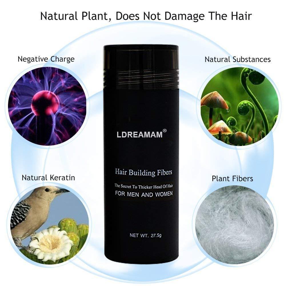 ldre amam fibras, schütt pelo, cabello dispersa, Hair ...