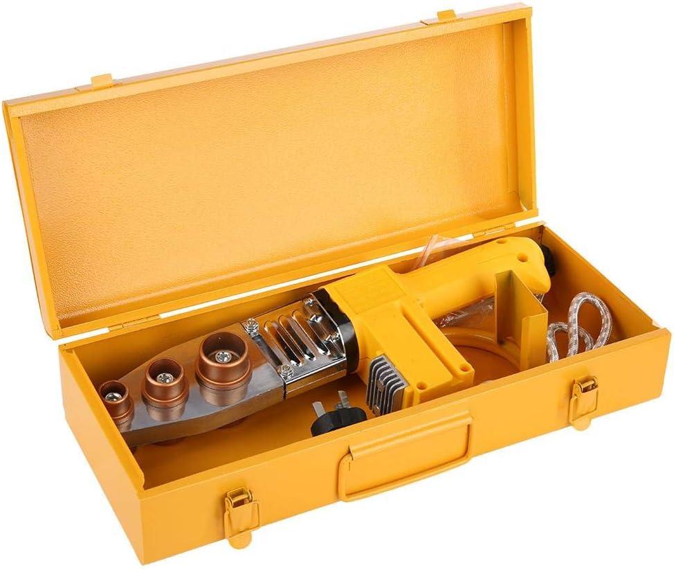 Herramienta de calefacción eléctrica del tubo de la máquina de la soldadura del tubo del derretimiento caliente de 750W PPR con el indicador digital