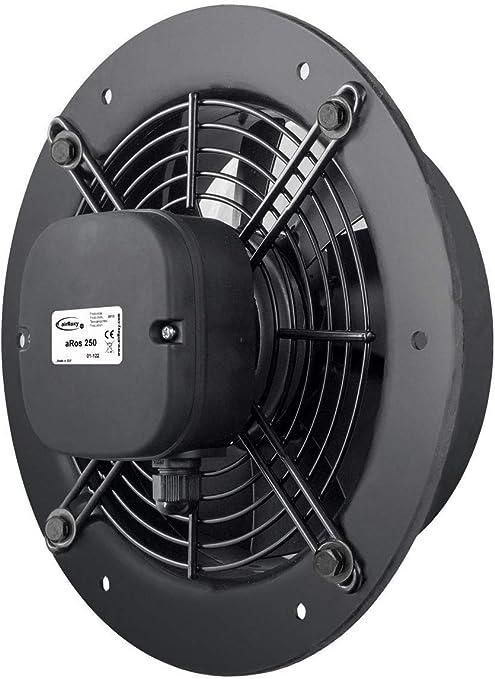 250mm Calidad Eficaz Poder Industrial Ventilación Pared Extractor ...