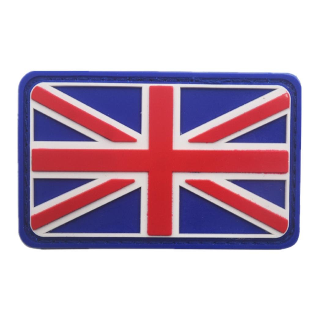 Belloc USA Tactical Patch - National Flag Patch American Flag Magic Stickers Badge Decoration for Boys, 1/4 Pc (England) by Belloc Stickers (Image #1)