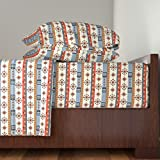 Roostery African 4pc Sheet Set Amhara by Mag-O King Sheet Set made with