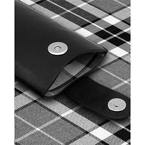 Bugatti SlimCase York Hülle für Smartphone (Größe: M) schwarz