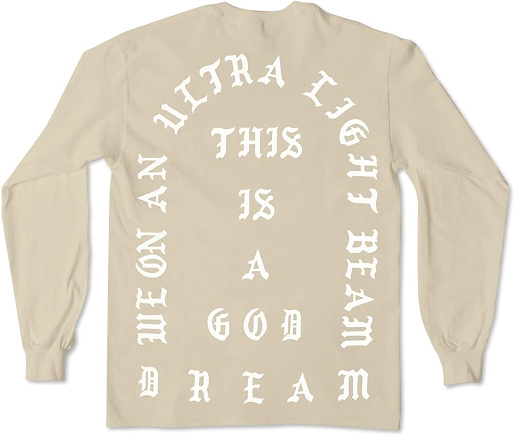 AA Apparel I Feel Like Pablo Black Long Sleeve Shirt Life of Pablo