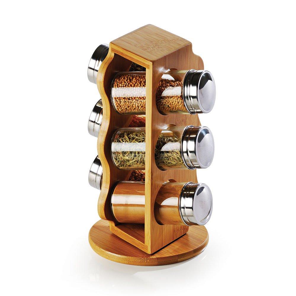 Porta-Condimentos Welf em Bambu Salzburgo - 7 peças