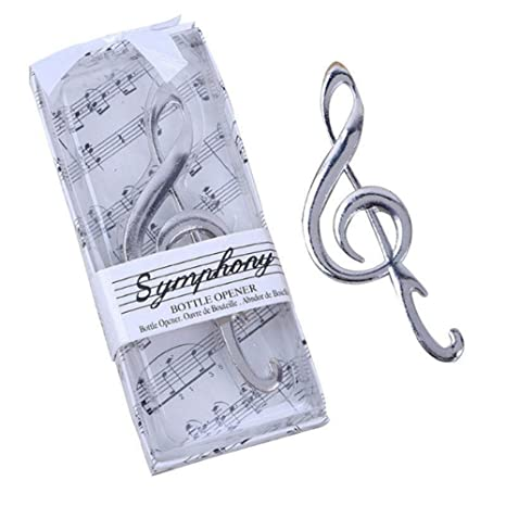 Image Unavailable. Image not available for. Color   24pcs quot Symphony quot  Music Note Bottle Opener For Wedding Party Favor 115643010317
