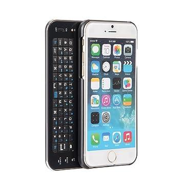 innext ultrafina deslizante Mini Wireless Bluetooth Keyboard Carcasa Trasera con retroiluminación Teclado QWERTY Bluetooth deslizante Funda