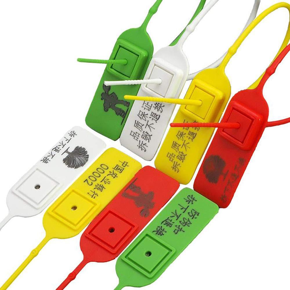 YAFENG - Sellos para de seguridad para Sellos puerta de camión, color azul, rojo, amarillo y verde 850652
