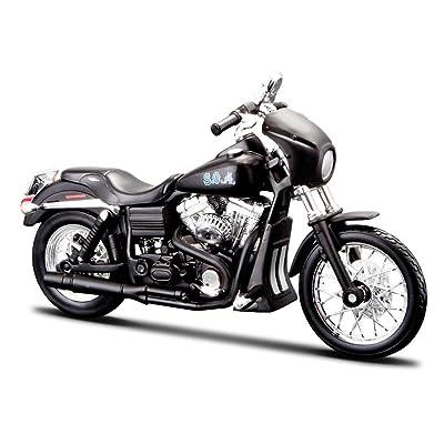 "2006 Harley-Davidson FXDBI Dyna Street Bob [Maisto 32340], Sons Of Anarchy - Alex ""Tig"" Trager, 1:12 Die Cast"
