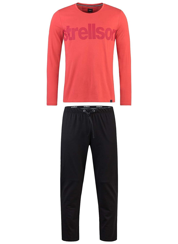 Strellson Bodywear Herren Pyjama Zweiteiliger Schlafanzug