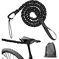 Bike Tow Rope, Flexible Nylon Kids Bike Tow Rope with Hooks, Elastic Bungee Rope Pull Bicycle Tow Rope, Specially…