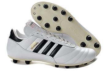 la meilleure attitude choisir véritable Vente Mens Copa Mundial FG-White Made in Germany Football Shoes ...