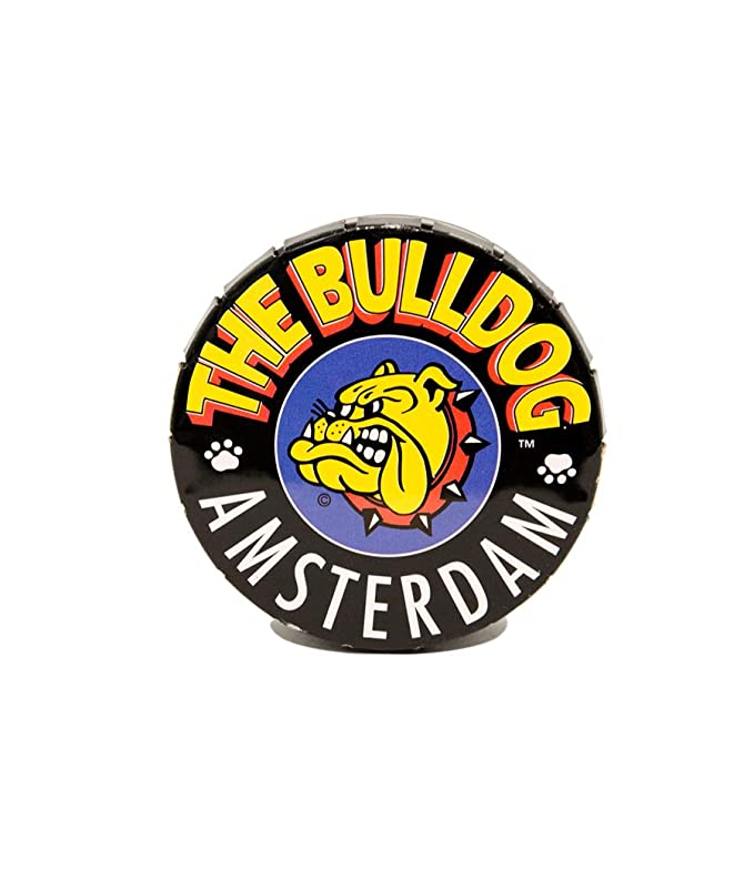 56mm Caja//Lata de conservaci/ón para Tabaco El Bulldog Amsterdam