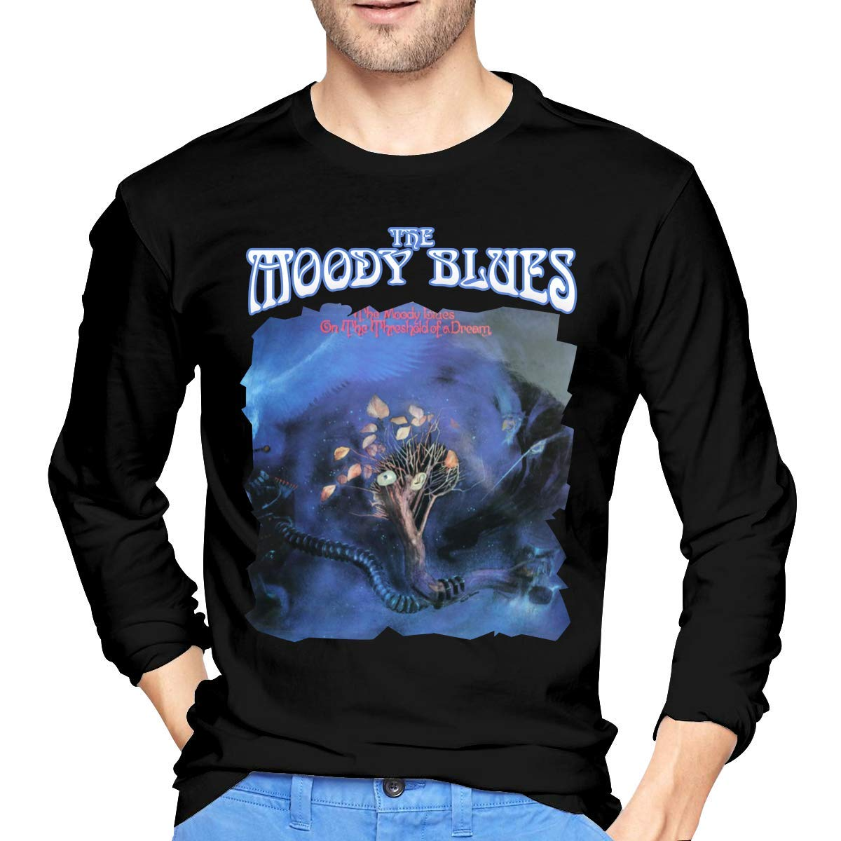 Fssatung S The Moody Blues On The Threshold Of A Dream Tshirt Black