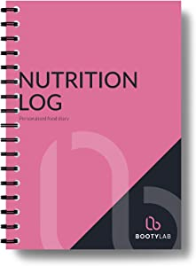 Food Diary/Nutrition Log with Calorie & Macro Tracker - The Perfect Weight Loss Journal with Kcal, Protein, Fat & Carb Stats