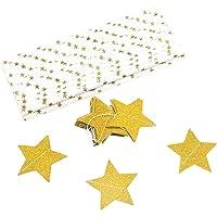 Garneck 2 M Guirnalda de papel larga, Estrella