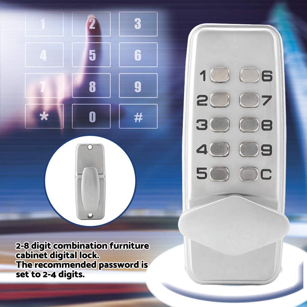 2-8 bloqueo de código digital mecánico cerradura sin llave la ...