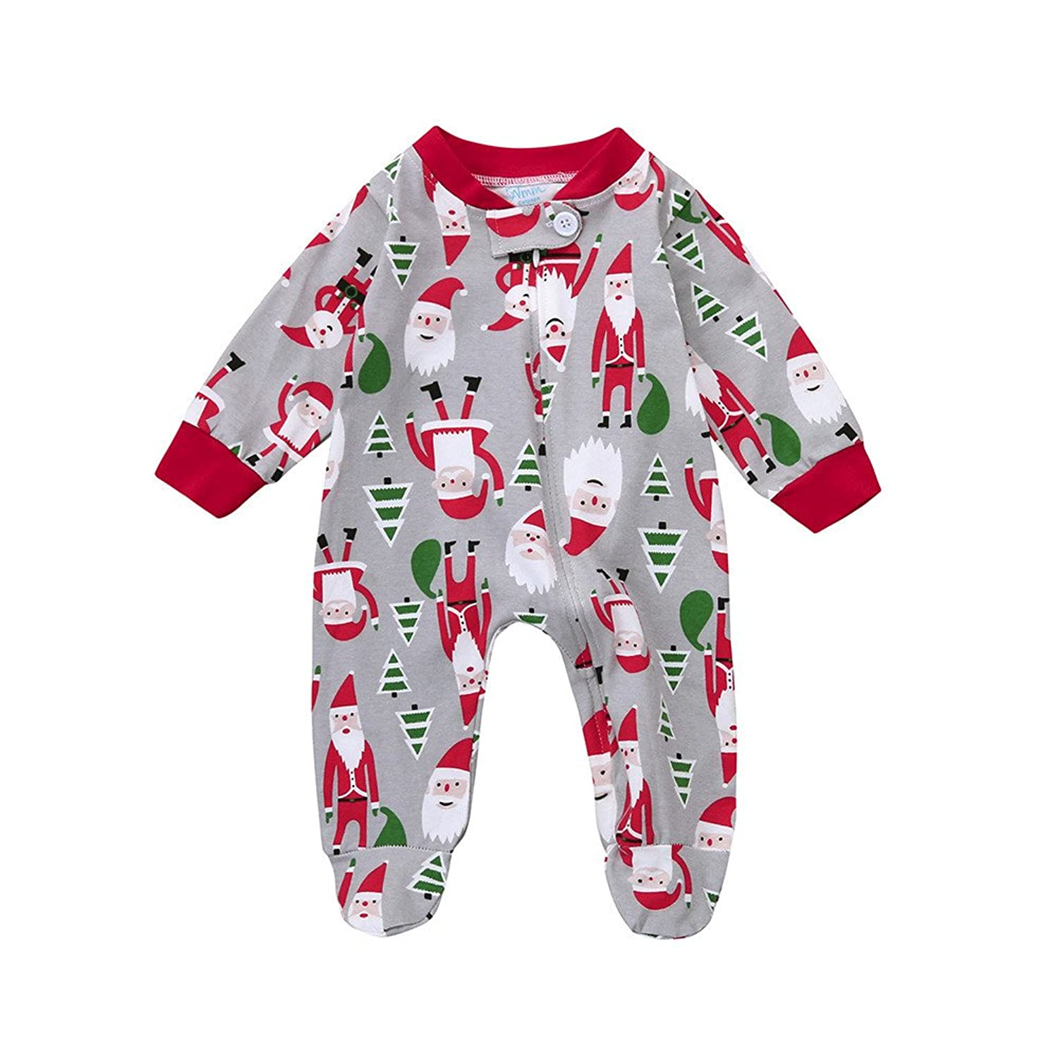 Amazon.com: ML_Victor Toddler Infant Baby Girls Boys Footed Pajamas ...